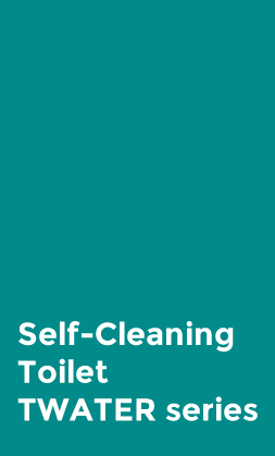 Self-cleaning toilet TWATER series
